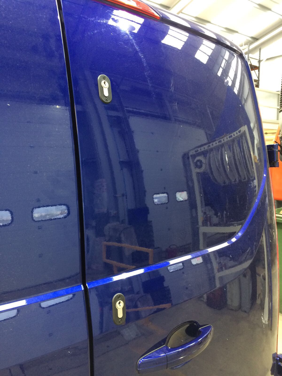 Transit Custom Deadlocks Locks And Tools Ltd Dartford