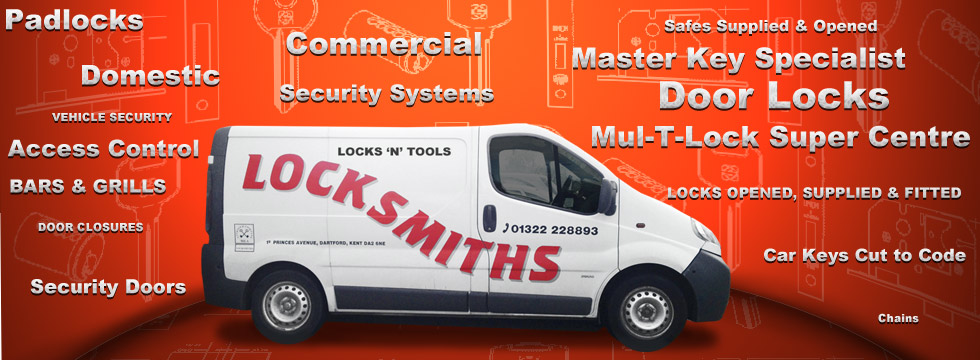 Locksmith Services - Locks and Tools Ltd - Dartford Locksmiths